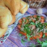 Закуска Помидоры к хачапури