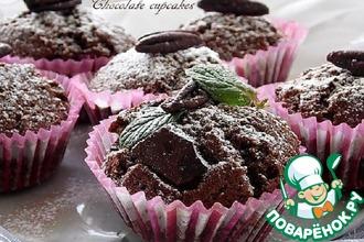 Рецепт: Шоколадные капкейки
