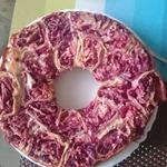 Фруктовый пирог из листового лаваша