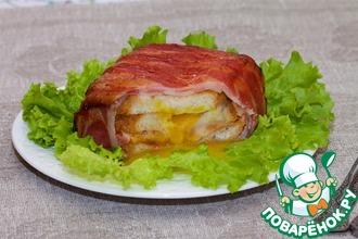 Рецепт: Сытный сэндвич для перекуса