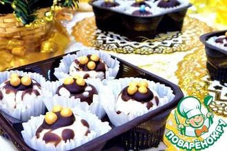 Рецепт: Конфеты Тропический микс в шоколадной глазури