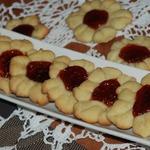 Сметанное печенье Цветочное