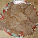 Тонкое льняное печенье