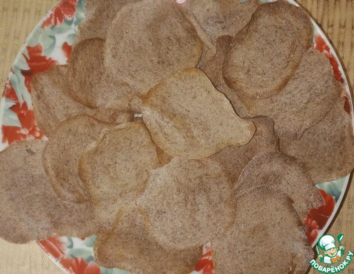 Рецепт: Тонкое льняное печенье