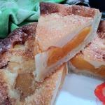 Рассыпчатый абрикосовый тарт по-французски
