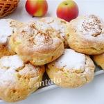 Яблочно-творожные булочки