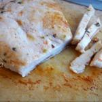 Куриная грудка в пекарской бумаге