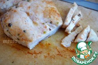 Рецепт: Куриная грудка в пекарской бумаге