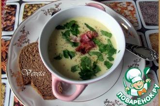 Рецепт: Картофельный крем-суп с хреном