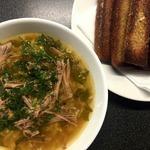 Суп рисовый с говядиной а-ля харчо