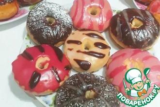 Рецепт: Пончики Донатсы