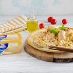 Куриные грудки в сырном соусе