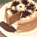 Торт Молочная девочка с кофейным кремом