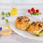 Запеченная капуста, фаршированная сыром и мясом