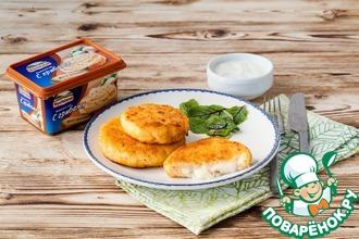 Рецепт: Картофельно-сырные котлеты