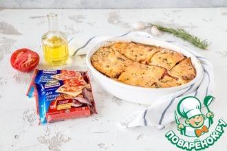Рецепт: Баклажаны, запеченные с сыром и помидорами
