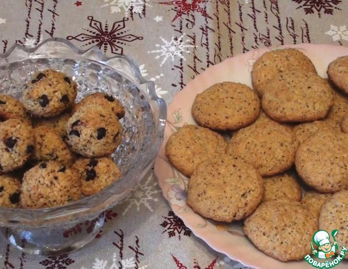 Рецепт: Кокосово-миндальное печенье