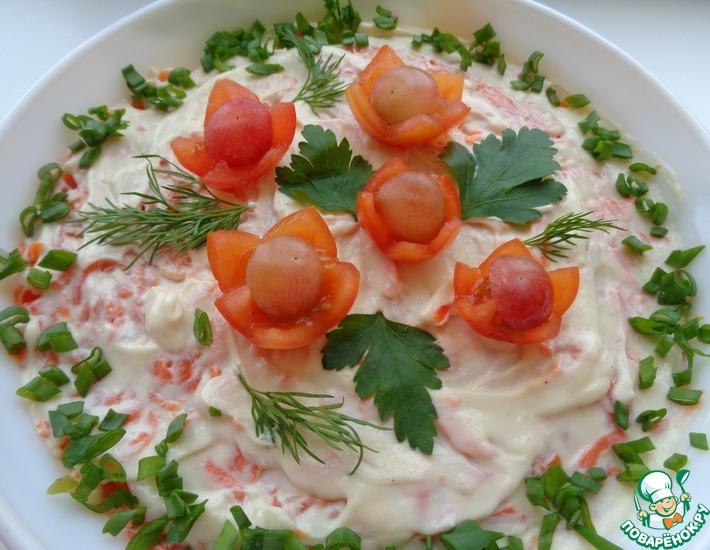 Рецепт: Салат «Отрада»