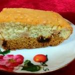 Фруктовый пирог с двумя видами теста