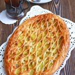 Пирог с картофелем и сливочным маслом