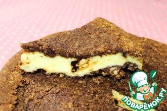 Рецепт: Творожный торфяной пирог