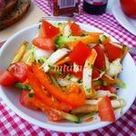 Салат из пекинской капусты с овощами