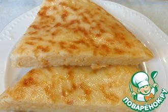 Рецепт: Ленивые хачапури на завтрак за 10 минут