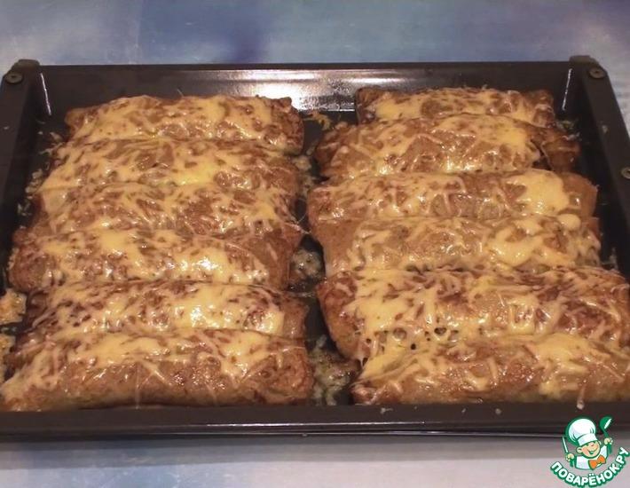 Рецепт: Картофельные драники с мясом и сыром