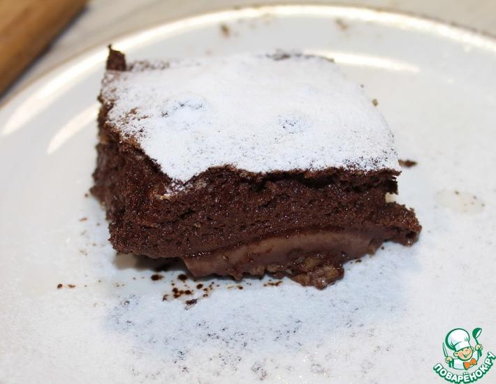 Рецепт: Шоколадно-рисовая запеканка