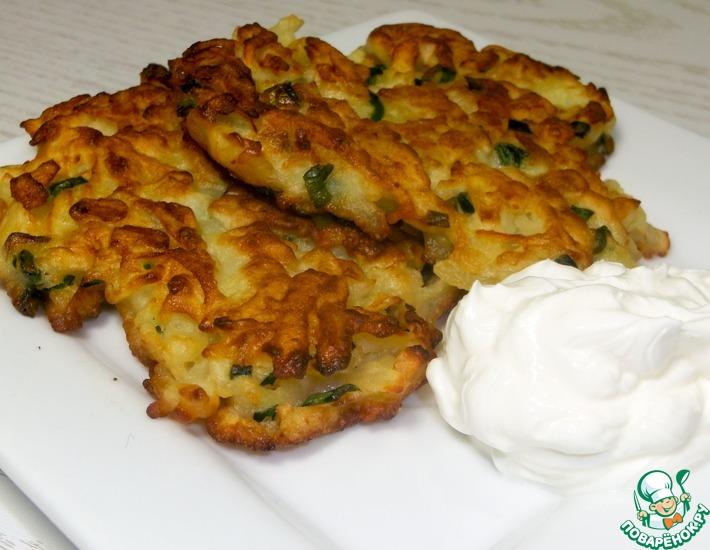 Рецепт: Вкусный завтрак из картофеля