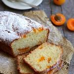 Творожный кекс с абрикосами
