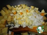 Домашнее сельское кушание ингредиенты