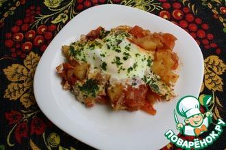 Рецепт: Домашнее сельское кушание