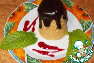 Рецепт: Фруктовый десерт из манки
