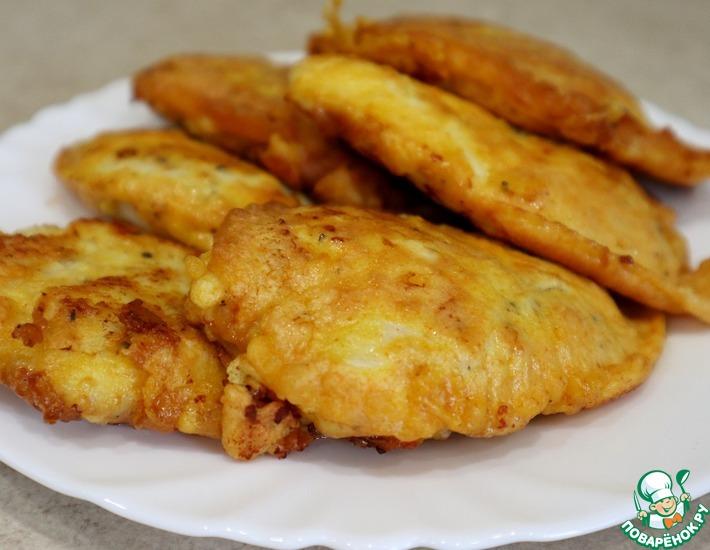 Рецепт: Курица в кляре за 20 минут