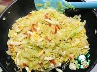 Вареники с белокочанной капустой и яйцом ингредиенты