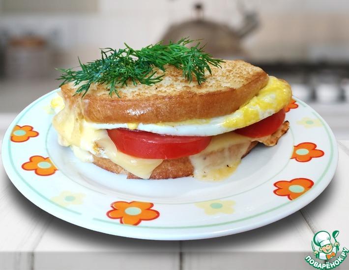 Рецепт: Бутерброд Утро