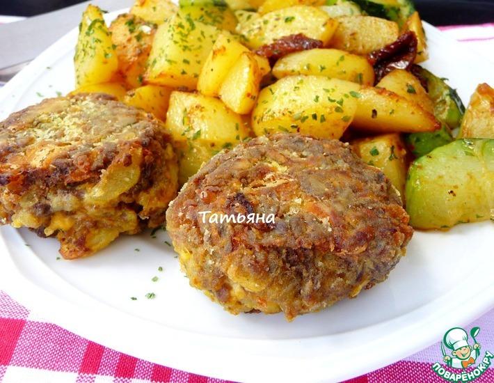 Рецепт: Котлеты из отварного мяса