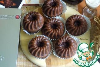 Рецепт: Мега-шоколадные кексы