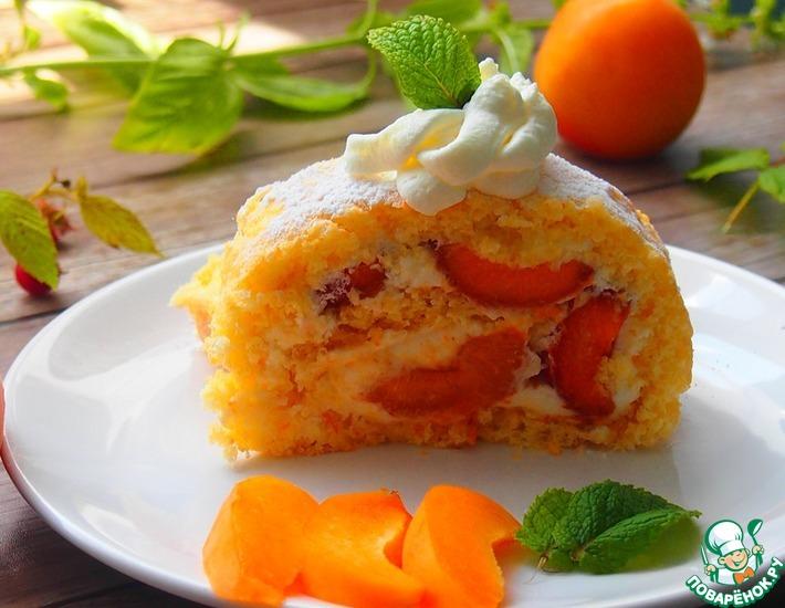 Рецепт: Рулет с абрикосами