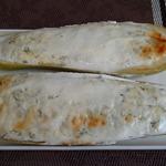 Кабачки с творогом и сыром