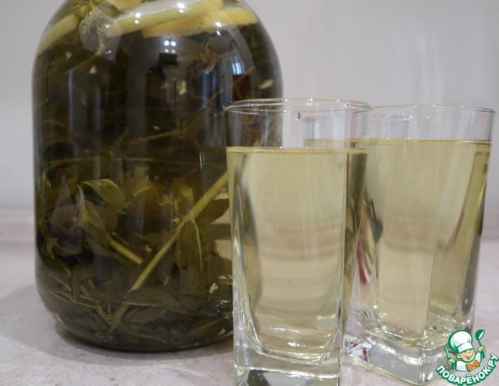 Рецепт: Лимонад из лимона и мяты