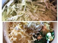 Заливной пирог Капустняк с сыром ингредиенты