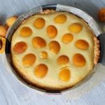 Пирог на песочном тесте с абрикосами