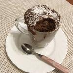 Шоколадный кекс в кружке за 3 минуты
