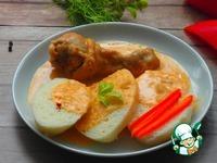Курица в паприковом соусе ингредиенты