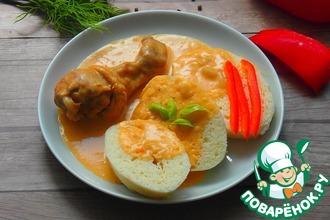 Рецепт: Курица в паприковом соусе