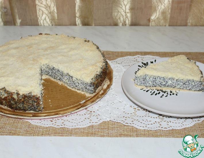 Рецепт: Творожно-маковый пирог