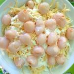 Салат с личи «Баской»