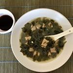 Корейский суп «Миёккук»